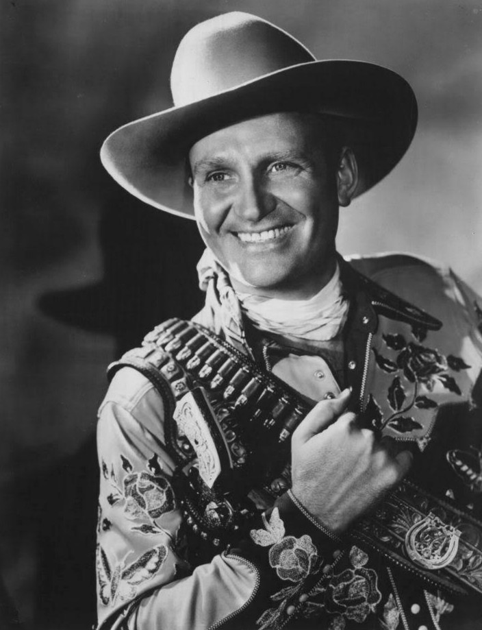 gene autry guys The wls national barn dance started in 1928 when  the first shows consisted of a bunch of guys with  1990, at gene autry's office at ktla-tv in.
